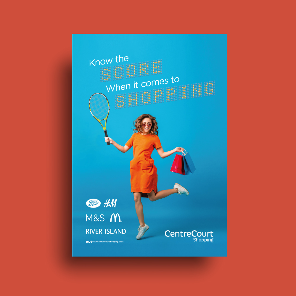 Centre Court Tennis Shopping Campaign