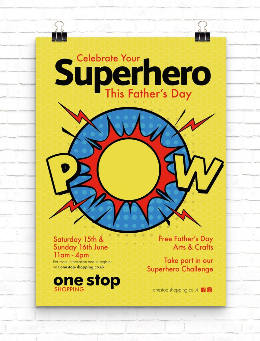 One Stop Father's Day Poster