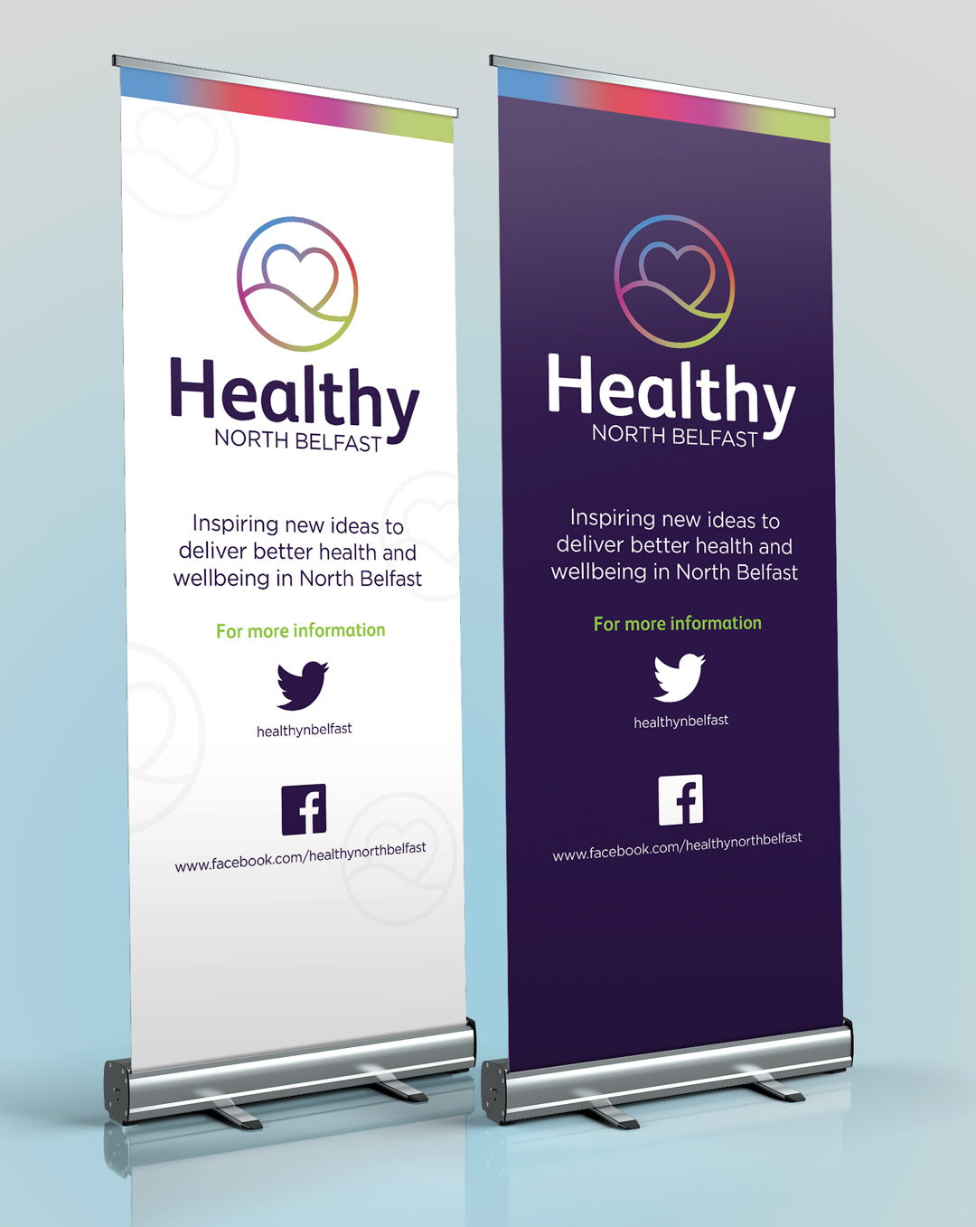 Healthy North Belfast Pull Up Banners